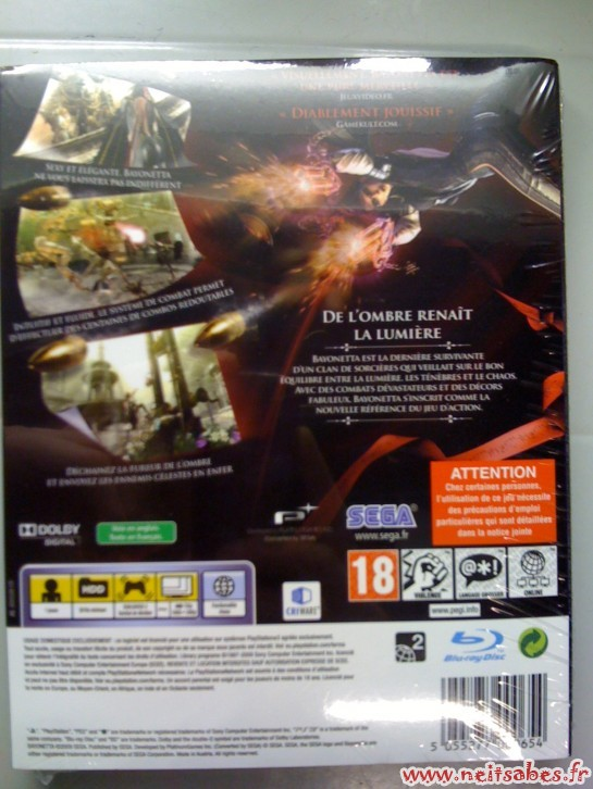 Déballage - Bayonetta (PS3 / XBOX 360)