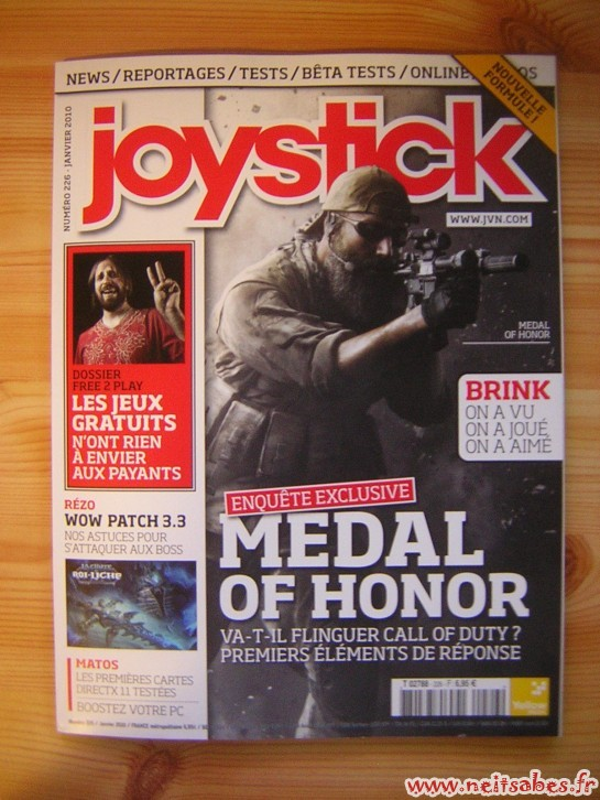Achat - Joystick (janvier 2010)