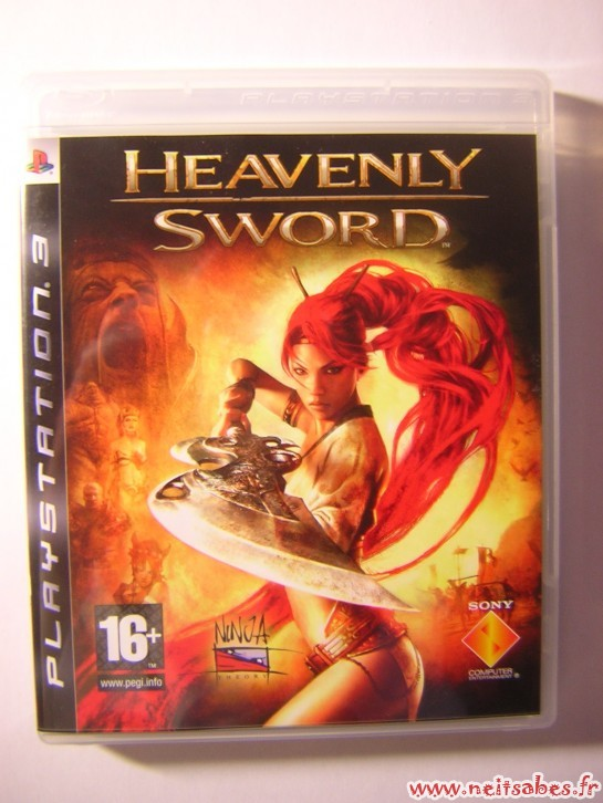 Achat - Heavenly Sword (PS3)
