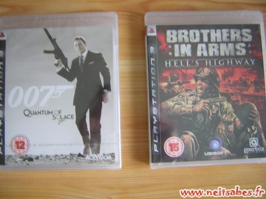 C'est arrivé ! - 007 Quantum Of Solace, Brothers In Arms : Hell's Highway