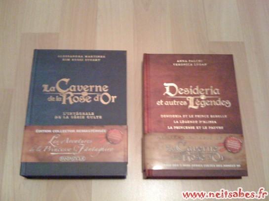 Déballage - La Caverne De La Rose D'or & Desideria et Autres Légendes
