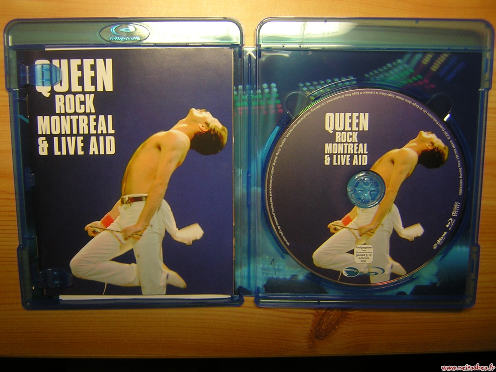 Test - Blu-Ray Queen Rock Montreal & Live Aid