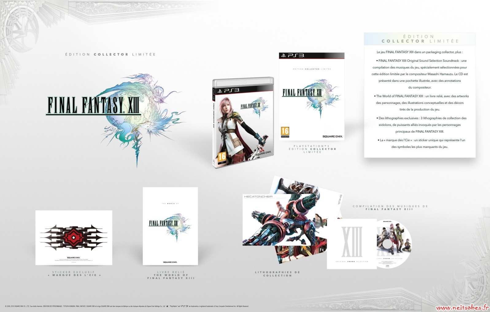 Pré-commande - Final Fantasy XIII édition collector (PS3)
