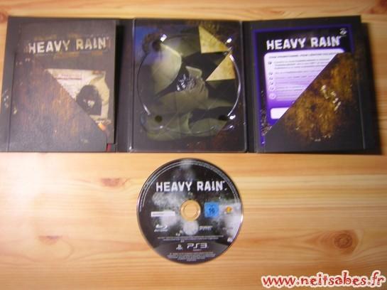 Déballage - Heavy Rain Édition Spéciale (PS3)