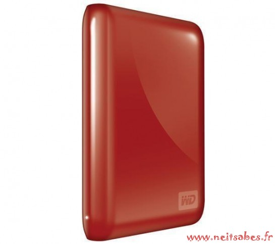 Commande - Disque dur WD My Passport Essential 500 GB