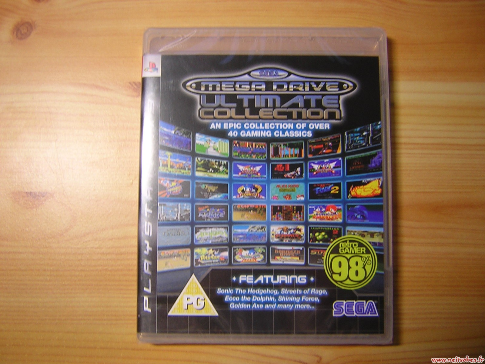 C'est arrivé - Sega Megadrive Ultimate Collection (PS3)