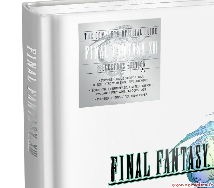 Pré-commande - Guide Final Fantasy XIII Édition Collector