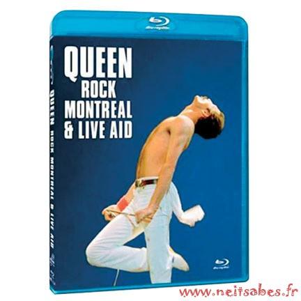 Commande - Queen Rock Montréal & Live Aids (Blu-Ray)