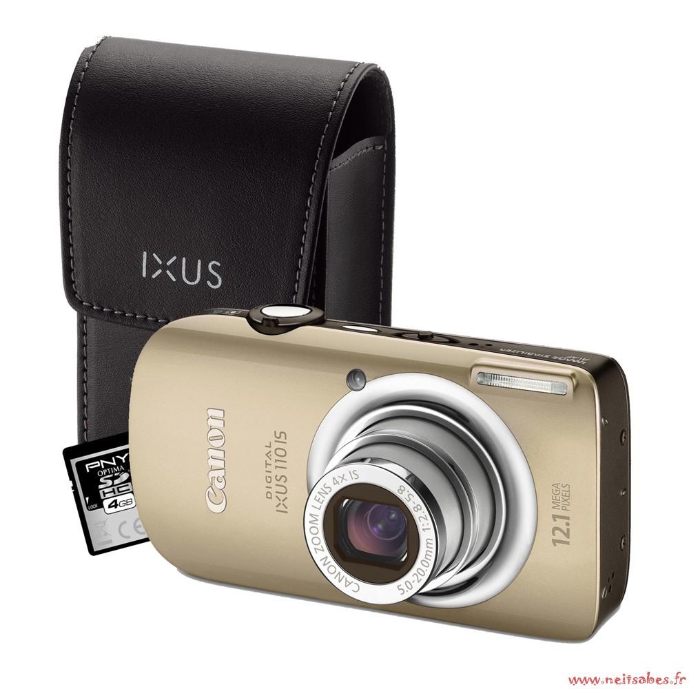 Commande - Canon Ixus 110 IS