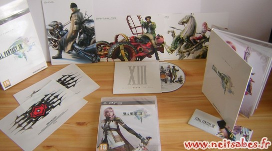 Déballage - Final Fantasy XIII Collector (PS3) & figurines