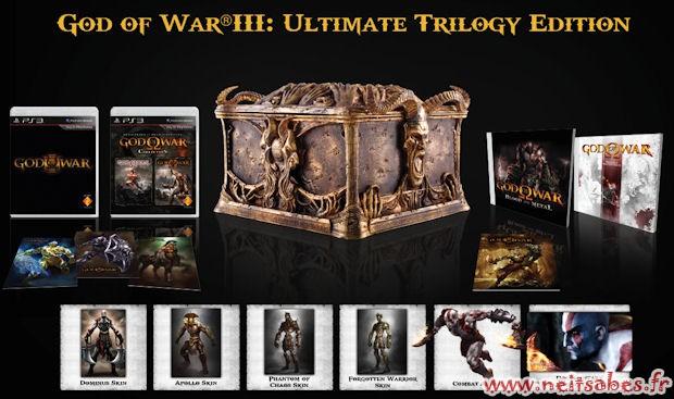 God Of War 3 : entre Pandora's Box, collector et version standard