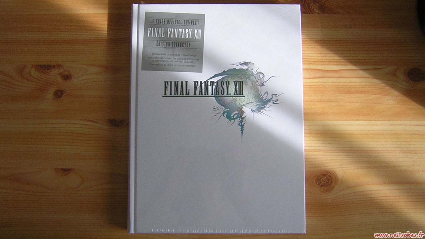 Déballage - Guide collector Final Fantasy XIII
