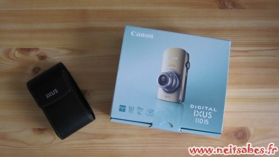 Arrivage - Canon Ixus 110 IS