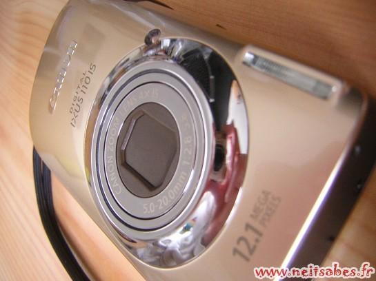 Arrivage - Canon Ixus 110 IS