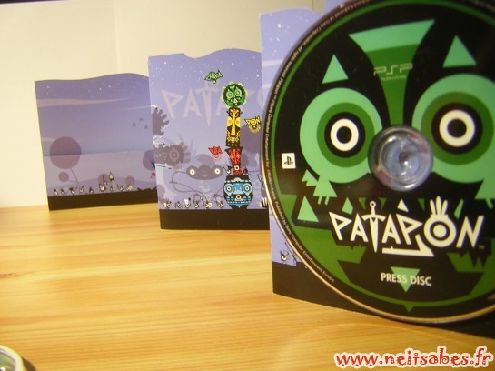C'est arrivé ! & Déballage - Kit Press Patapon (PSP)