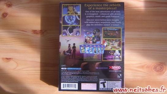 Déballage - Lunar Silver Star Harmony Premium Edition (PSP)