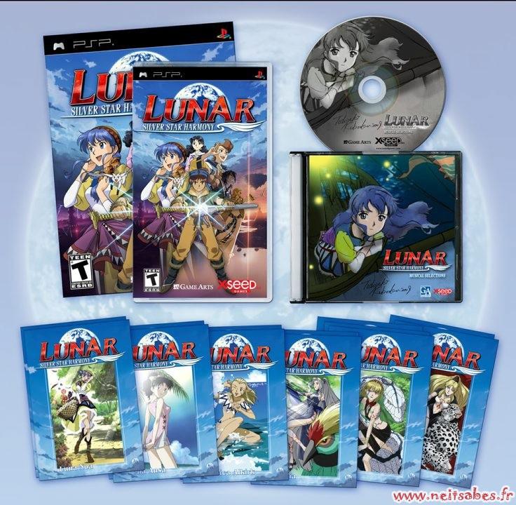 Pré-commande - Lunar Silver Star Harmony Limited Edition (PSP)