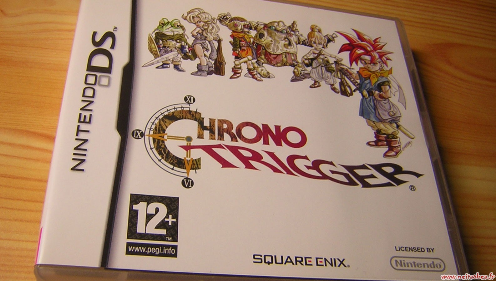 Achat - Chrono Trigger (DS) & Valkyrie Profile 2 (PS2)