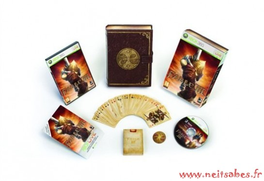 Humeur - Fable 3 en collector sur Xbox 360 et en dématérialisé sur PC