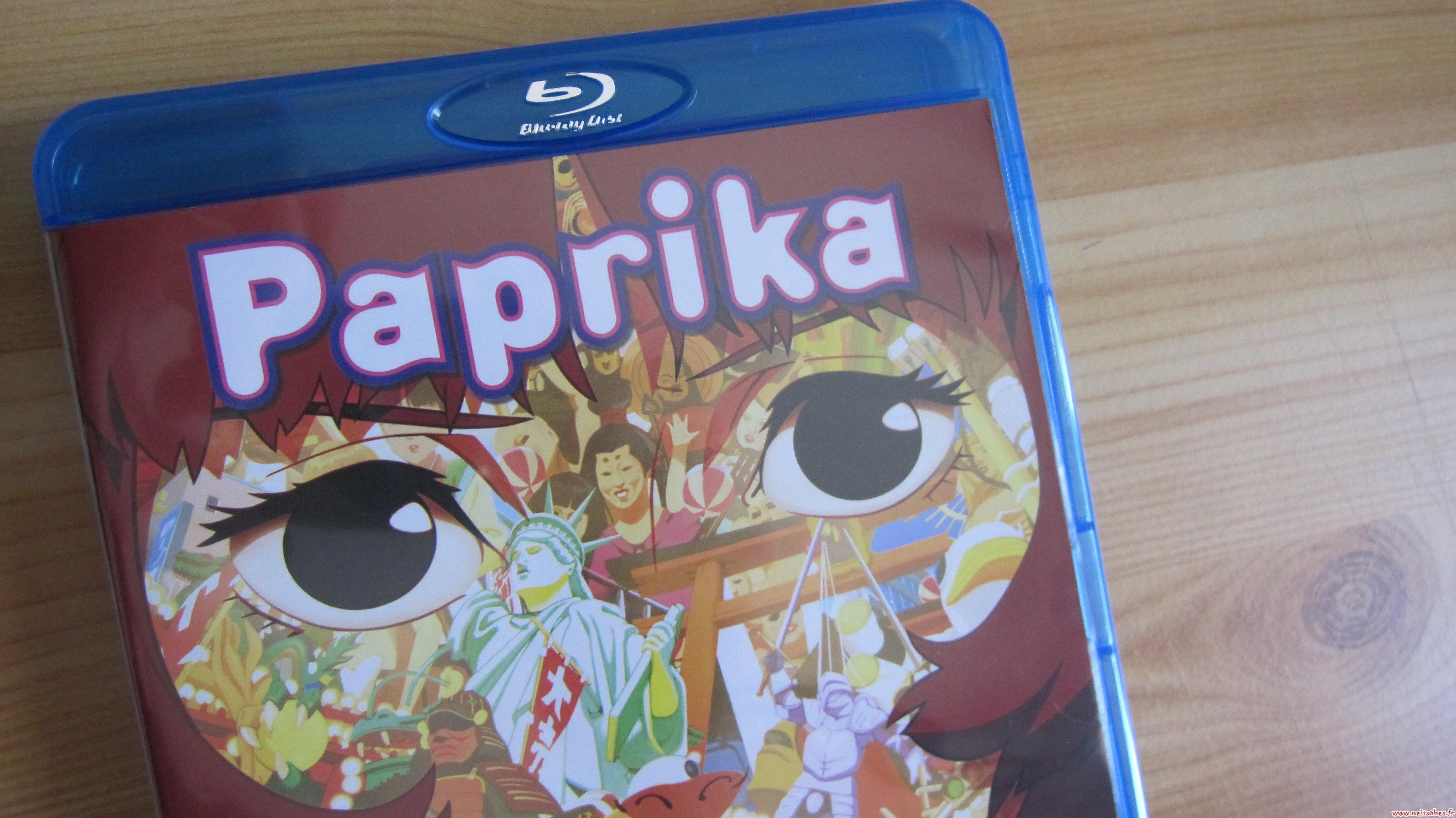 Critique - Paprika (Blu-ray)