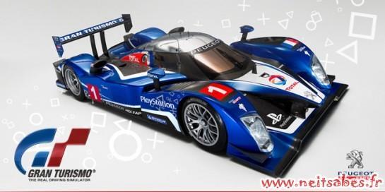La démo de Gran Turismo 5 en exclu pendant les 24h du Mans !