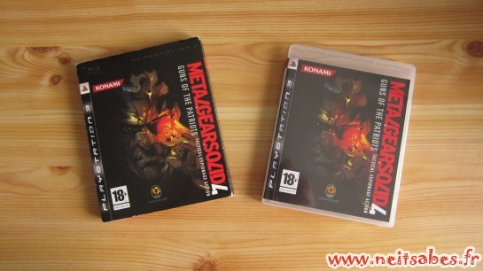 Achat - Metal Gear Solid 4 Guns Of The Patriots (PS3)