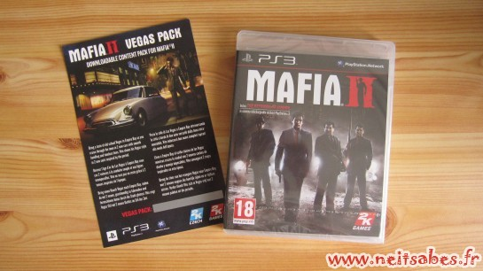 C'est arrivé ! - Mafia 2 et Vegas Pack (PS3)