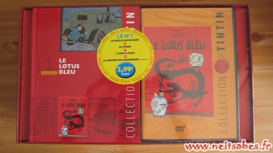 Achat - Collection Tintin en DVD