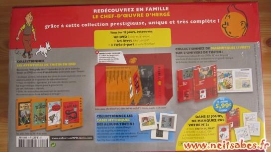 Achat - Collection Tintin en DVD
