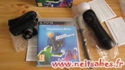 Déballage - Playstation Move Pack Découverte