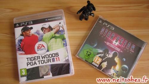 C'est arrivé ! - Tiger Woods PGA Tour 11 et Star Ocean TLHI