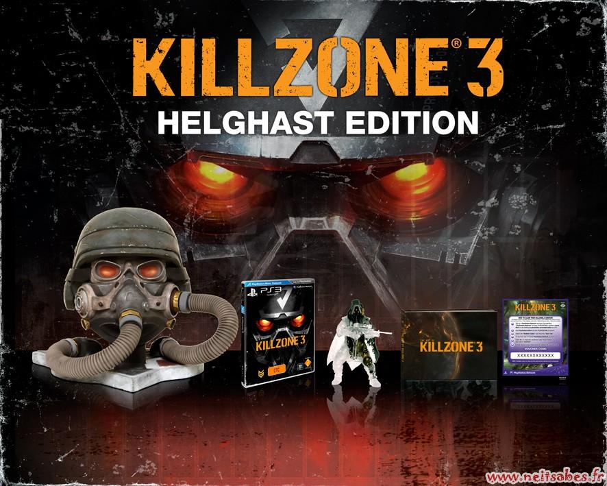 Killzone 3 : l'édition collector et l'édition Helghast dévoilées ! (PS3)