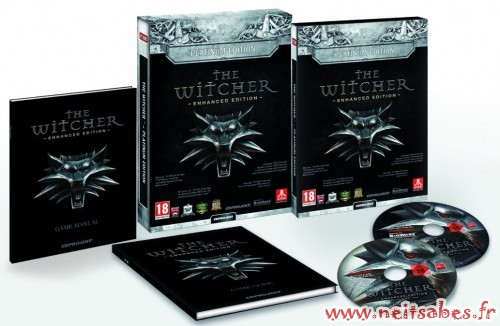 Commande - The Witcher Enhanced Platinum Edition (PC)