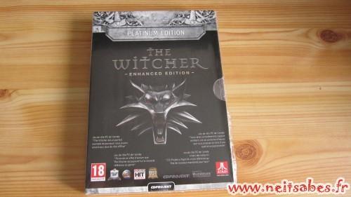 Déballage - The Witcher Enhanced Edition Platinum (PC)