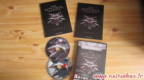 Déballage - The Witcher Enhanced Edition Platinum (PC)