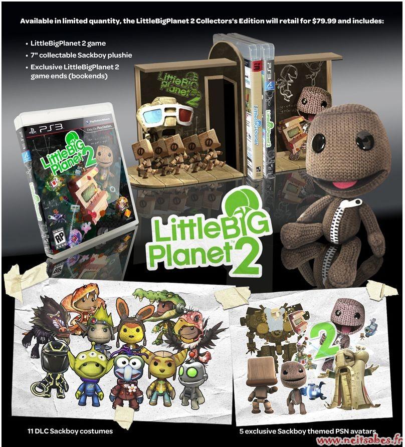 Little Big Planet 2 Collector version européenne