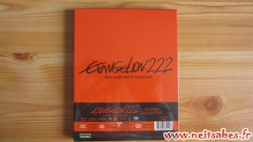 C'est arrivé ! - Evangelion 2.22 You Can (Not) Advance (Blu-Ray)