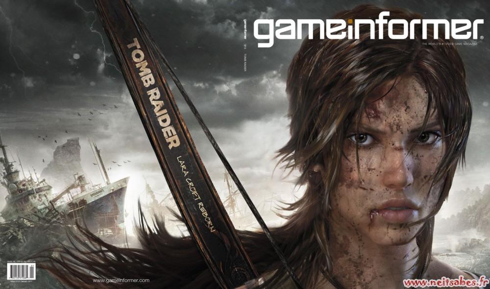 Le nouveau Tomb Raider est officiellement annoncé !