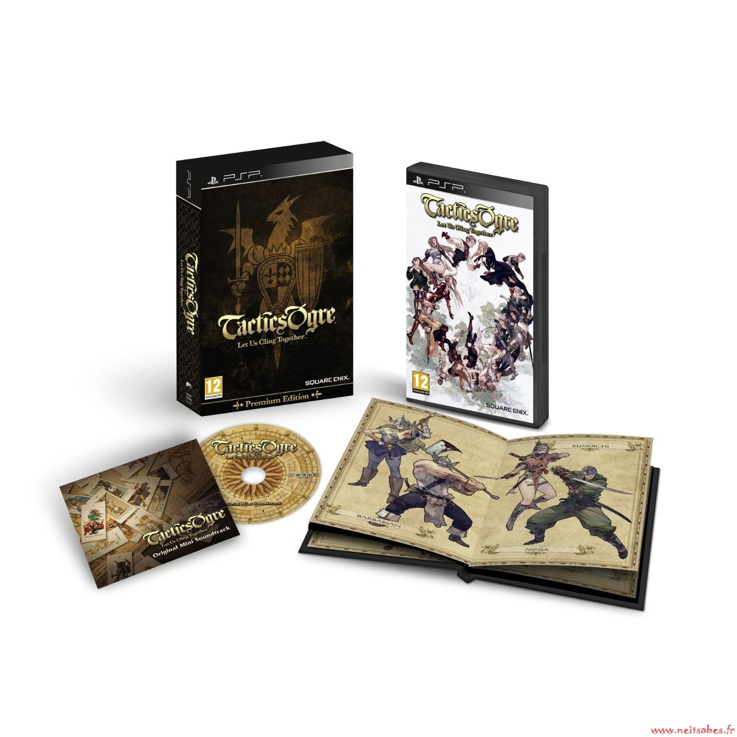 Pré-commande - Tactics Ogre : Let Us Cling Together Édition Collector (PSP)