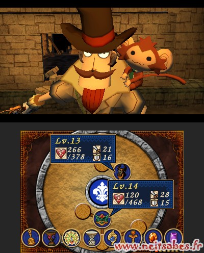 Doctor Lautrec and the Forgotten Knights : Layton a de la concurrence (3DS)