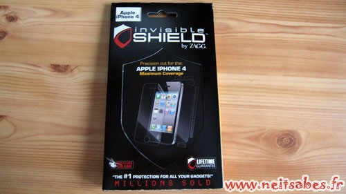 C'est arrivé ! - Invisible Shield iPhone 4