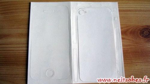 C'est arrivé ! - Invisible Shield iPhone 4