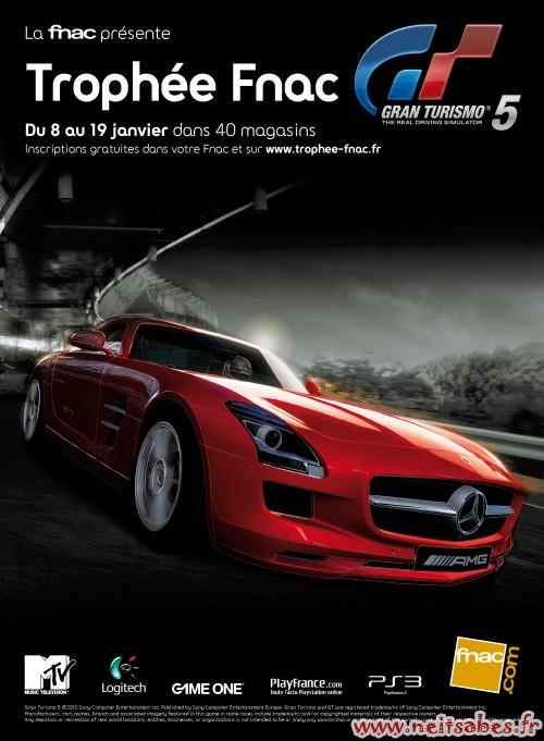 Trophée Fnac Gran Turismo 5 du 8 au 19 janvier 2011