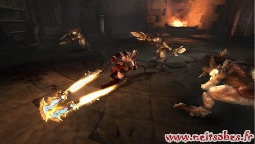 Test - God Of War Ghost Of Sparta (PSP)