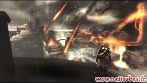 Test - God Of War Ghost Of Sparta (PSP)