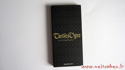Déballage - Le jeu de tarot de Tactics Ogre