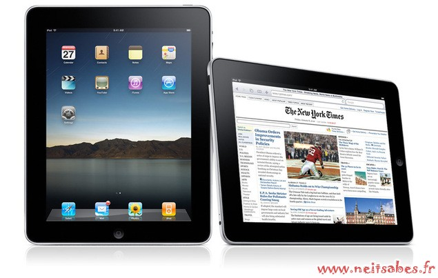 Taxe sur la copie privée : Apple augmente les prix de l'iPad.