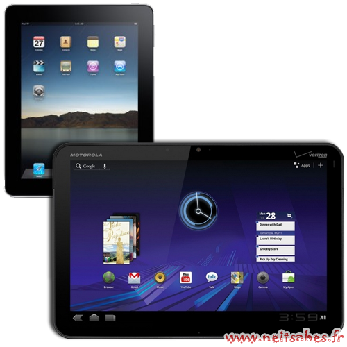 Les absurdes comparaisons entre les l'iPad et les autres tablettes.