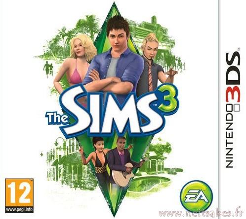 J'ai joué aux Sims 3DS.