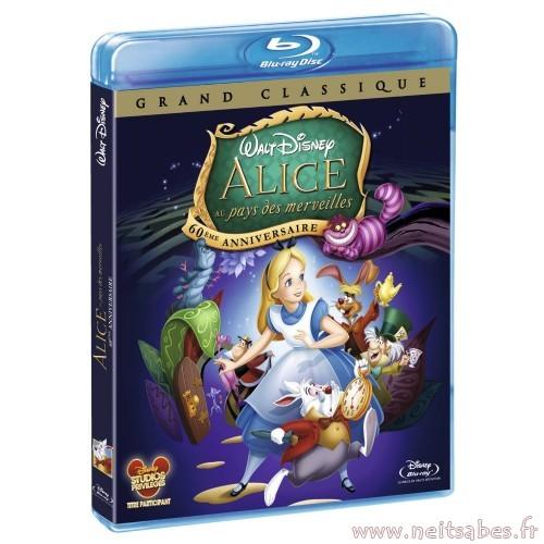 Pré-commande - Alice Au Pays Des Merveilles (Blu-ray Disney).